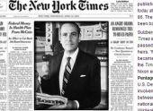 Умер издатель газеты New York Times