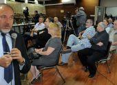 Либерман раскрыл журналистам свои секреты
